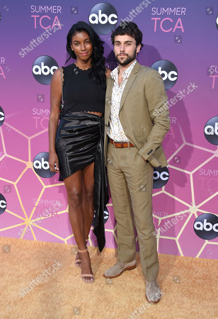 Stock Image of Jack Falahee and guest
