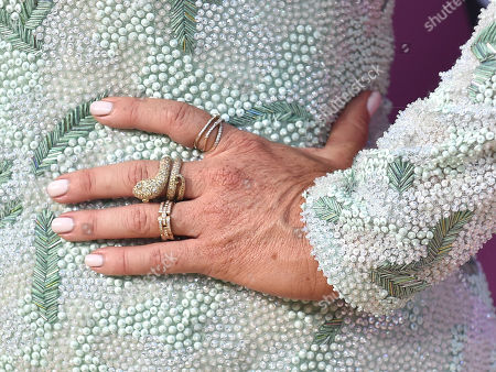 Poppy Montgomery, ring detail