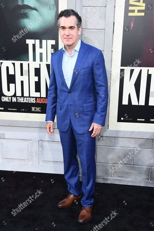 """Brian d'Arcy James arrives at the world premiere of """"The Kitchen"""" at the TCL Chinese Theatre, in Los Angeles"""