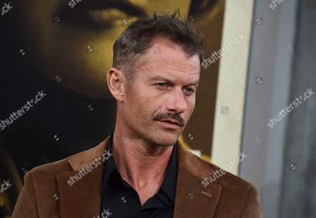 """Stock Picture of James Badge Dale arrives at the world premiere of """"The Kitchen"""" at the TCL Chinese Theatre, in Los Angeles"""