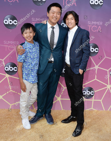 Stock Image of Ian Chen, Hudson Yang and Forrest Wheeler