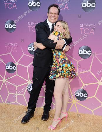 Diedrich Bader and Meg Donnelly