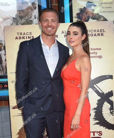 Michael Roark and Allison Paige