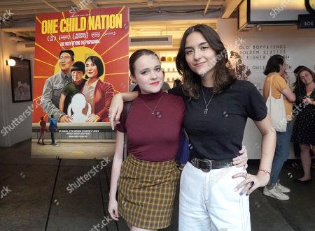 Nadia Alexander and Quinn Shepard