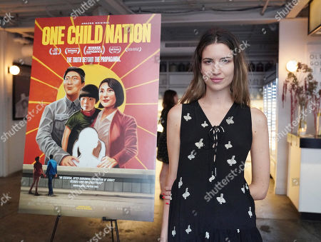 Editorial image of 'One Child Nation' film screening, Arrivals, New York, USA - 05 Aug 2019