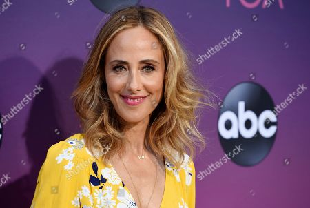 Kim Raver poses at the ABC Television Critics Association Summer Press Tour All-Star Party at Soho House, in West Hollywood, Calif