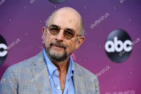 "Richard Schiff, a cast member in the ABC series ""The Good Doctor,"" poses at the ABC Television Critics Association Summer Press Tour All-Star Party at Soho House, in West Hollywood, Calif"