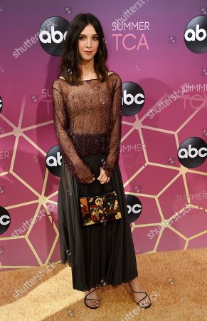 Stock Photo of Denyse Tontz poses at the ABC Television Critics Association Summer Press Tour All-Star Party at Soho House, in West Hollywood, Calif