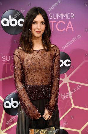 Denyse Tontz poses at the ABC Television Critics Association Summer Press Tour All-Star Party at Soho House, in West Hollywood, Calif
