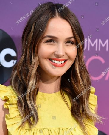 Camilla Luddington poses at the ABC Television Critics Association Summer Press Tour All-Star Party at Soho House, in West Hollywood, Calif