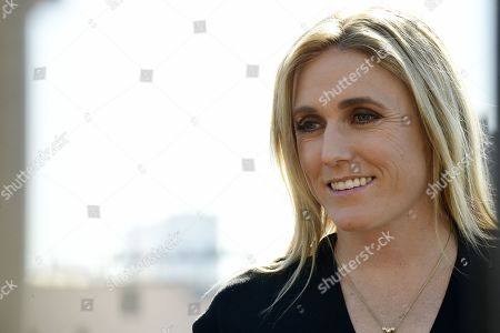 Stock Photo of Australian Olympian Sally Pearson poses for a photograph after a press conference where she announced her retirement, in Sydney, Australia, 06 August 2019. Australia's greatest modern-day track and field athlete Sally Pearson has announced her retirement due to a spate of ongoing injuries.