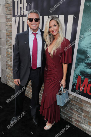 Stock Picture of Producer Michael De Luca and Angelique De Luca