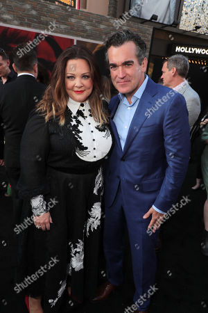 Melissa McCarthy and Brian d'Arcy James