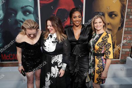 Elisabeth Moss, Melissa McCarthy, Tiffany Haddish and Director/Writer Andrea Berloff