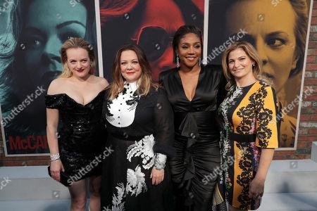 Stock Photo of Elisabeth Moss, Melissa McCarthy, Tiffany Haddish and Director/Writer Andrea Berloff