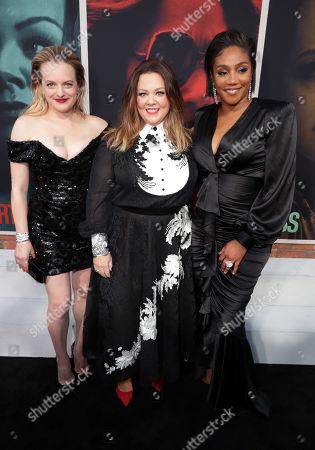 Elisabeth Moss, Melissa McCarthy and Tiffany Haddish