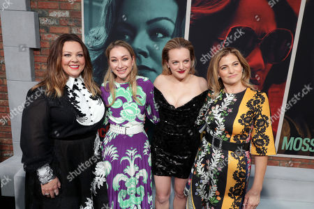 Melissa McCarthy, Blair Rich - President, Worldwide Marketing, Warner Bros. Pictures Group and Warner Bros. Home Entertainment, Elisabeth Moss and Director/Writer Andrea Berloff