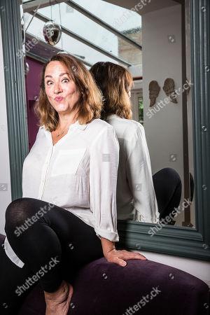 Editorial photo of Arabella Weir photoshoot, London, UK - 30 Jul 2019