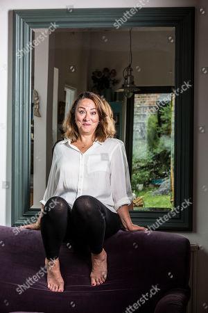 Editorial image of Arabella Weir photoshoot, London, UK - 30 Jul 2019