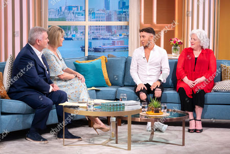 Stock Photo of Eamonn Holmes, Ruth Langsford, Sam Barton and Anna-May Mangan
