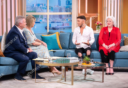Stock Image of Eamonn Holmes, Ruth Langsford, Sam Barton and Anna-May Mangan