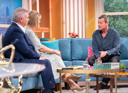 Stock Photo of Eamonn Holmes and Ruth Langsford with Bill Ward