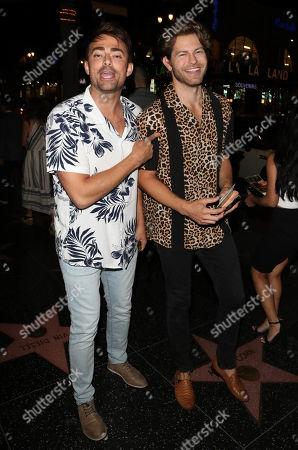 Jonathan Bennett and Jaymes Vaughan