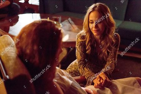 Annalise Basso as Heaven and Julie Benz as Kitty