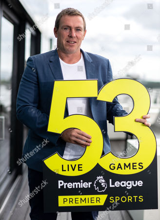 Premier Sports today unveiled a new, fresh and exciting broadcast team for its coverage of the 2019/2020 Premier League Season featuring analysts Richard Dunne and Kenny Cunningham, host Eoin McDevitt and commentators Des Curran, Gary Breen and Clive Tyldesley. Pictured today is Richard Dunne