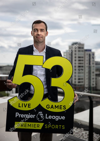 Premier Sports today unveiled a new, fresh and exciting broadcast team for its coverage of the 2019/2020 Premier League Season featuring analysts Richard Dunne and Kenny Cunningham, host Eoin McDevitt and commentators Des Curran, Gary Breen and Clive Tyldesley. Pictured today is Gary Breen