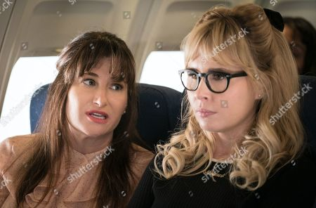 Michaela Watkins as Melanie Burke and Andree Vermeulen as Monica Scholls