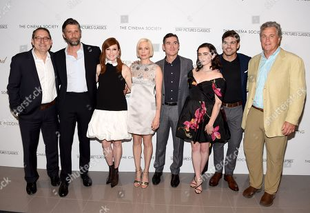 Michael Barker, Bart Freundlich, Julianne Moore, Michelle Williams, Billy Crudup, Abby Quinn, Alex Esola and Tom Bernard