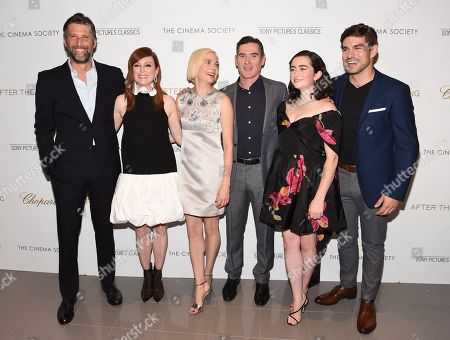Bart Freundlich, Julianne Moore, Michelle Williams, Billy Crudup, Abby Quinn and Alex Esola