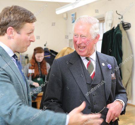 Prince Charles visits Beauly, Scotland