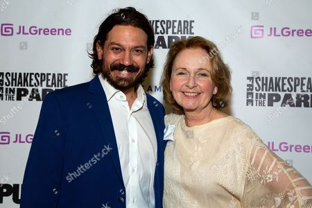 Editorial image of 'Coriolanus' play opening night, arrivals, Public Theater's Free Shakespeare in the Park, New York, USA - 05 Aug 2019