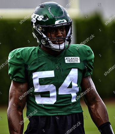 , 2019, Florham Park, New Jersey, USA: New York Jets inside linebacker Avery Williamson (54) during training camp at the Atlantic Health Jets Training Center, Florham Park, New Jersey