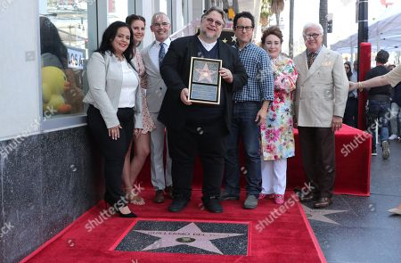Editorial image of SCARY STORIES TO TELL IN THE DARK Producer Guillermo del Toro honored with a star on the Hollywood Walk of Fame, Los Angeles, CA, USA - 6 August 2019