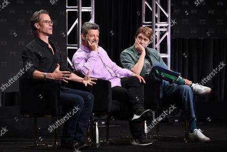 Guy Pearce, Andy Serkis, and Joe Alwyn