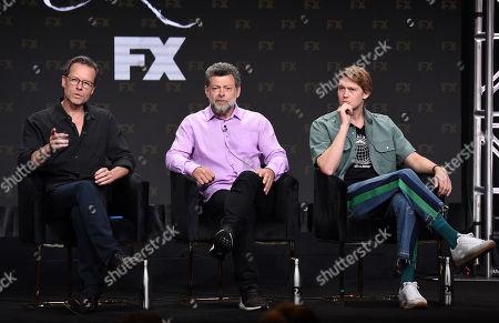 Guy Pearce, Andy Serkis and Joe Alwyn