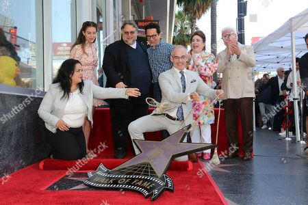 Editorial image of Guillermo del Toro Honored with a Star on the Hollywood Walk of Fame, Los Angeles, USA - 06 Aug 2019
