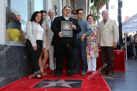 Editorial photo of Guillermo del Toro Honored with a Star on the Hollywood Walk of Fame, Los Angeles, USA - 06 Aug 2019