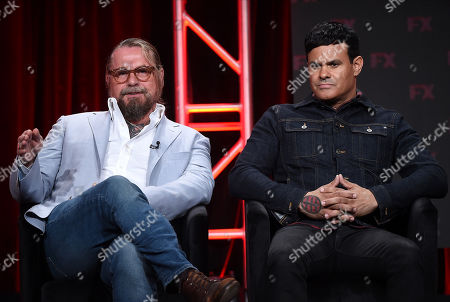 Stock Image of Kurt Sutter and Elgin James
