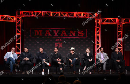 Kurt Sutter, Elgin James, J D Pardo, Clayton Cardenas, Edward James Olmos, Sarah Bolger, Danny Pino and Emilio Rivera