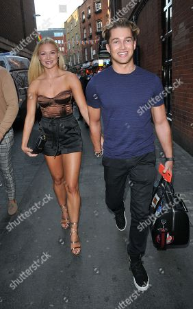 Stock Picture of Abbie Quinnen and AJ Pritchard