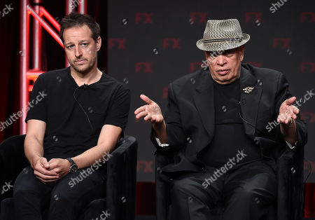 Stock Image of Dave Andron, Walter Mosley