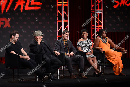 Editorial picture of FX Networks 'Snowfall' TV show panel, TCA Summer Press Tour, Los Angeles, USA - 06 Aug 2019