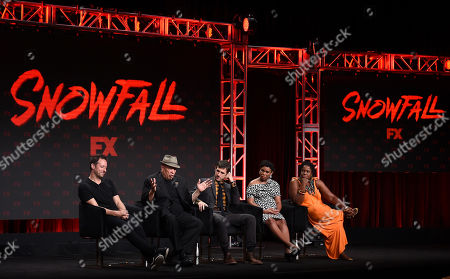 Editorial image of FX Networks 'Snowfall' TV show panel, TCA Summer Press Tour, Los Angeles, USA - 06 Aug 2019