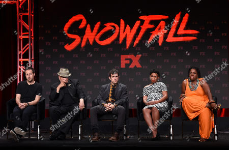 Editorial photo of FX Networks 'Snowfall' TV show panel, TCA Summer Press Tour, Los Angeles, USA - 06 Aug 2019