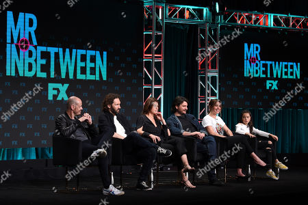 Editorial picture of FX Networks 'Mr Inbetween' TV show panel, TCA Summer Press Tour, Los Angeles, USA - 06 Aug 2019
