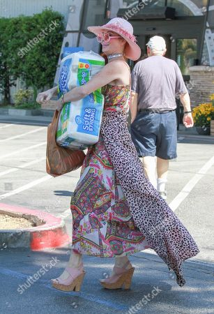 Editorial picture of Phoebe Price out and about, Los Angeles, USA - 06 Aug 2019